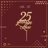 Jual LVA 30 / Topper / Hiasan Kue / Caketopper / Bunting Flag / Cake Topper Murah