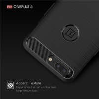 CARBON CASE Oneplus 5 OP5 1+5 OnePlus5 Casing HP Full Cover Softcase