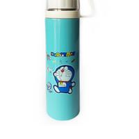 Jual Termos Karakter + Tutup Gelas / Botol Minum Stainless 500ml - Doraemon Murah