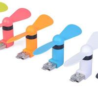 Jual #DC014 - Kipas Angin MiCRO USB OTG Mini 2in1 Mini Fan Android Murah