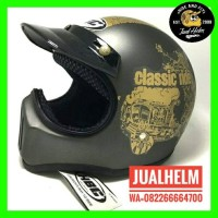 harga Helm Cakil Hbc Classic Ride Grey Tokopedia.com