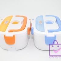 Jual Baru Electric Lunch Box Kotak Penghangat Makanan Elektrik Serbaguna Murah