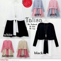 S Blouse Talisa White, Black, Grey, Pink, Salmon, Milo