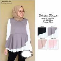 Pakaian Baju Atasan Wanita Belvita Blouse Busana Muslim Hijab