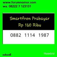 Jual Nomor Cantik Smartfren(0882 1114 1987)Seri Tahun Terupdate Rapih S10 Murah
