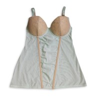 Padded Camisole Mint Toffee