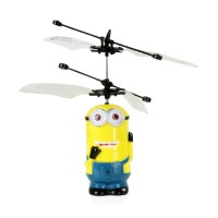 Jual Promo  #IA004 - Flying Toy Mainan Anak Terbang Minion Hello Kitty Murah