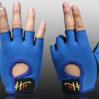 Jual Sarung Tangan Gloves Murah Half Finger Sepeda B35 O092 Murah