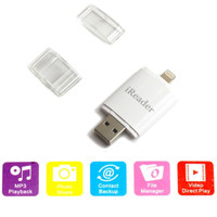 Jual BEST SELLER iReader Lightning Card Reader TF Card & Micro SD Slot Murah