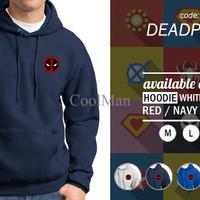 Jual Jaket Hoodie Murah - Deadpool Murah