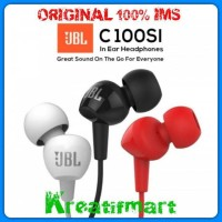 EARPHONE JBL C100SI | HEADSET EAR PHONE JBL C100si in Ear ORIGINAL