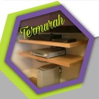 Jual PROMO!! 2pcs rak dinding DVD 60x20 Floating shelf / ambalan Murah
