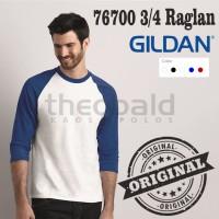Kaos Raglan 3/4 Gildan Original 76700