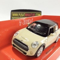 NEW MINI HATCH - SKALA 1:36 - WELLY (DIECAST-MINIATUR)