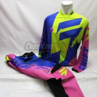 harga Jersey Set Shift Motocross Black Blue Yellow Flou Pink Adventure Lokal Tokopedia.com