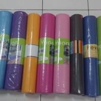 Jual Yoga Mat matras 6mm 173x61cm aneka warna olahraga alas ada tas Murah