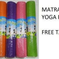 Jual Matras Yoga / Yoga Mat PVC tebal 4 mm Murah