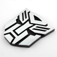 Jual #Emblem Transformers Autobots ( Medium Size ) chrome Murah