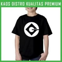 Jual Kaos Minion Gru Logo 2 Anak ANK-MIN05 Laki / Perempuan Murah