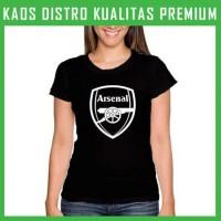Jual Kaos Arsenal Logo 1 Wanita Cewek WNT-ARS01 Murah