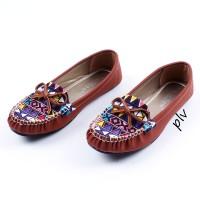 harga |plv| Murah Sepatu Flat Shoes Flatshoes Wanita Etnik Gratica Rj43 Bata Tokopedia.com