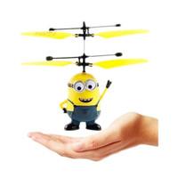 Jual Murah ! #IA004 - Flying Toy Mainan Anak Terbang Minion Hello Kitty Fro Murah