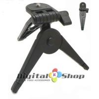 Jual Foldable Mini Table Tripod / Hand Grip - Black Original Murah
