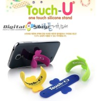 Jual Touch-U One-touch Silicone Phone Holder Stand for Mobil Original Murah