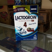 Jual Lactogrow 4 Vanilla 750gr Murah