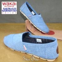 harga Sepatu Wakai - Denim/jeans/twill | Unisex Tokopedia.com