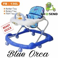 FAMILY BABY WALKER FB - 136 L BIRU