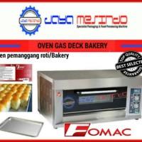 Oven gas roti pemanggang roti manis fomac indonesia