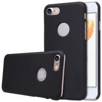 Jual Nillkin Iphone 7Plus Super Frosted Shield Hard Case - Hitam Murah