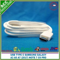 Kabel Data USB Type C SAMSUNG NOTE 7 A3 A5 A7 2017 C9 PRO ORIGINAL