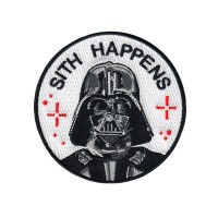 Jual BORDIR EMBLEM IRON PATCH SITH HAPPS 7X7CM Murah