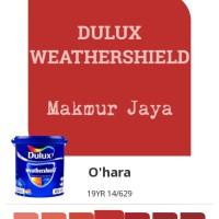 Dulux Weathershield O'hara Cat Tembok Eksterior