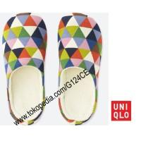 SANDAL RUMAH UNIQLO Room Shoes SPRZ NY EAMES 402358 putih white
