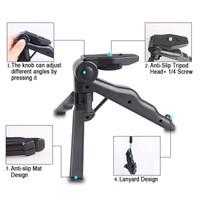 Jual Portable Mini Folding Hand Monopod Stand Tripod DSLR Camera 2 in 1 Murah