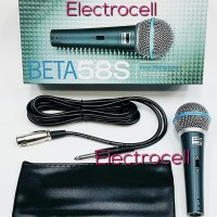Microphone SHURE BETA 58S (ON/OFF)