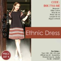 Jual Dress Ethnic Murah
