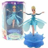 Jual mainan anak berkualiitas Flying Elsa With Light and Mus Limited Murah