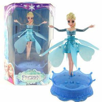 Jual terlaris anak ceria Flying Elsa With Light and Music Diskon Murah