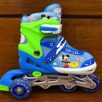 Jual TERLARIS sepatu roda inline skate bajaj mickey mouse po Limited Murah