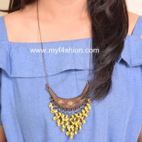 Jual statement necklace kalung fashion wanita fatia Limited Murah