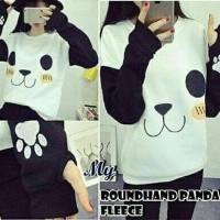 Jual Sweater Roundhand Panda White Limited Murah