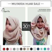 Jual Hijab Kerudung Jilbab Nurjannah Anak Instan  Murah