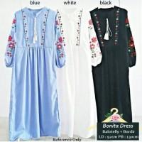 Jual TERLARIS GAMIS SYARI MUSLIM DEWASA Bonita Dress BALOTELI BAGUS MURAH Murah