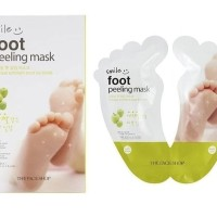 Smile Foot Peeling Mask 20ml * 2EA / Masker Kaki - The Face Shop