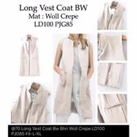Jual Baju Cewek Atasan Murah Long Vest Murah
