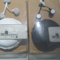 Jual Handsfree / headset candy karakter macarons Murah